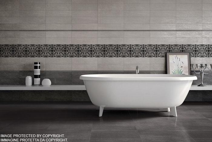 Cherkom - Rivestimento bagno grigio ...