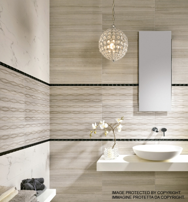 Bagni in marmo moderni moderno marmo bagno idee disegni - Pavimenti per bagno moderno ...